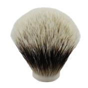30mm Diameter Finest Two Band Badger Hair Shaving Brush Knot