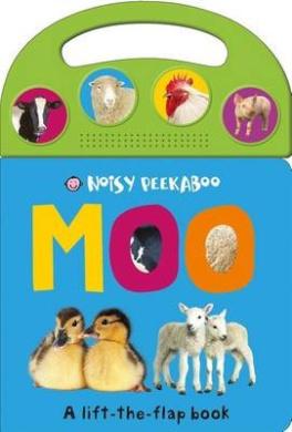 Noisy Peekaboo: Moo (Noisy Peekaboo) [Board book]