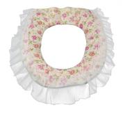 Fashion Cloth Zip-fly Warm Toilet Seats Cushion Covers Pads Mats