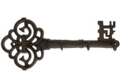 Decorative Wall Mounted Key Holder   Vintage Key With 3 Hooks   Wall Mounted   Rustic Cast Iron   With Screws And Anchors By Comfify