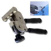 Heavy Glass Running Breaking Pliers, Compound Action