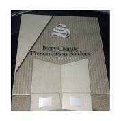 Southworth Ivory Granite Presentation Folders