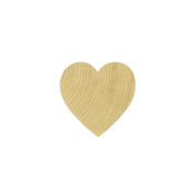 MyCraftSupplies Set of 100 Wood Heart Cut Outs ONE INCH Natural Wood Heart for Crafting, Staining, Painting