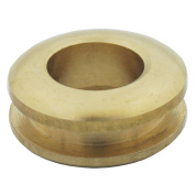 """Bluemoona 10 Pcs - Solid Brass Grommet Eyelets 20mm 3/4"""" Buckle Clothes Leather Backing Corns"""
