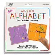 Wikki Stix Alphabet Fun Cards for Learning Model