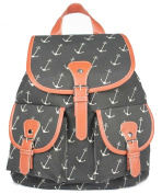 YONGER Vintage Aztec Women Canvas Backpacks Student School Bags