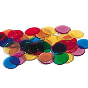 Learning Resources Transparent Colour Counting Chips, Set of 250 Size