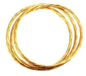 3m Coil of #4 Stranded Copper Wire for Tower Grounding - ROHN CW4ST