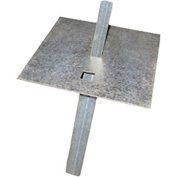 ROHN GTMBL Ground Mount / Plate for Telescoping Masts