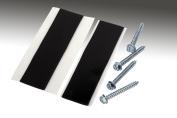 Dish Mount Pitch Pad Kit 0.6cm x 5.1cm Lag Screws & Tar Pads- For J Pole Dish Mounts