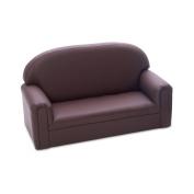 Brand New World Toddler Enviro-Child Upholstery Sofa - Chocolate