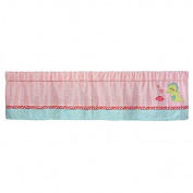 Carter's Sea Collection Window Valance, Pink/Blue/Turquoise