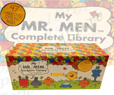 My Complete Library Mr Men 47 Books Complete Box Set Story Collection Hard Cover