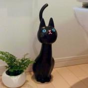 MEIHO Cat Toilet Brush Black ME02 From Japan