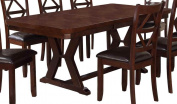 Milton Greens Stars 8867DB Larissa Dining Table, 84 by 110cm by 80cm , Dark Brown
