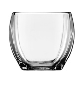 Libbey Tapered Square Votive Holder, 9.7cm Tall, Clear, Set of 12