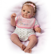 Daddy's Little Girl So Truly Real Poseable, Weighted Baby Doll By Sherry Rawn by The Ashton-Drake Galleries