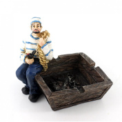 Cool Nautical Captain and Sailor Voyage Theme Ashtray for Home Decor