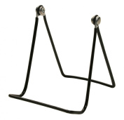 12-Pack 2A Gibson Holders - Two Wire Display Stand - Black