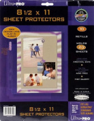 22cm -by-28cm Sheet Protector Album Refill Pages
