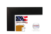 24x 30 Custom Black Picture Poster Photo FRAME Wood Composite Elegant One 2.5cm WIDE MOULDING