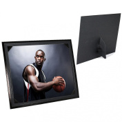 Smooth Finish Corner Mount Black Easel 5x7 frame sold in 25s - 5x7