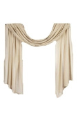Home Collection by Raghu Heirloom Window Scarf, 110cm by 300cm , Cream