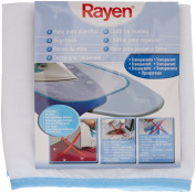 Rayen 6317 Transparent Ironing Cloth for Delicates, 70cm by 35cm