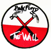 Pink Floyd Wall Hammers Cloth Patch (Ro Card Pack) Iron on Sew Applique Embroidered Patches
