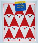 Swedish Dishcloth - Tomte Santa