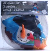 In the Breeze Snowman Wind Friend 3D Windsock