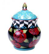 Certified International Classic Rose Biscotti Jar, 27cm
