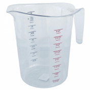 Chef's Supreme - 3.8l. Polycarbonate Clear Measuring Cup w/ Handle