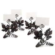 Epic Products 02-100 Grapevine Place Card Holders (Set of 4), Multicolor