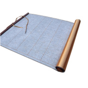 [Gold] Calligraphy Practise Recycle Used Writing Pad Satin Scroll