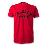 Calgary Hockey T-Shirt Red/Black