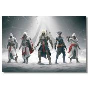 Assassin's Creed Black Flag Silk Print
