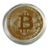 Bitcoin - Golden Commemorative Coin