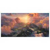 "Thomas Kinkade's ""The Cross"" Canvas Print"