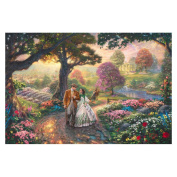 """Thomas Kinkade's """"Gone with the Wind"""" Canvas Print"""