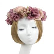 Jelinda® Women Girl's Flower Wreath Headband Floral Crown Garland