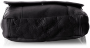 David King & Co. Vertical Mans Bag, Black, One Size