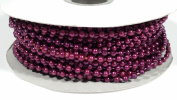 Plastic Pearl Beads on a String - MOT Beads - 24 Yards