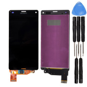 LL Trader® LCD Display +Touch Screen Digitizer Assembly For Sony Xperia Z3 mini Compact Z3c Black with Free Tool