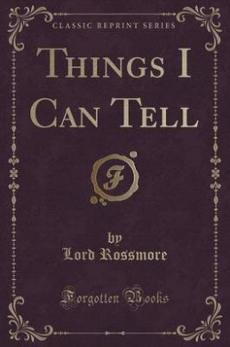 Things I Can Tell (Classic Reprint)