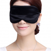 Sleeping Eye Mask Silk Sleep Mask Eye-shade Breathe Freely Aid-sleeping Black