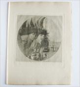 Aubrey Beardsley - Antique Photogravure - A Christmas Carol