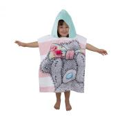 Me To You Tatty Teddy Childrens Girls Scrumptious Poncho Towel (50cm X 115cm)