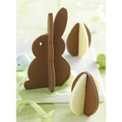 3D Easter Bunny and Egg Silicone Baking Chocolate Mould