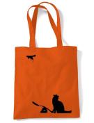 Banksy Cat & Mouse Tote / Shoulder Bag